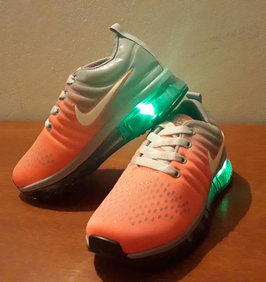 Zapatos Nike Air Max Con Luces Para Niños