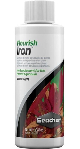 Suplemento De Hierro Para Plantas Flourish Iron 100ml