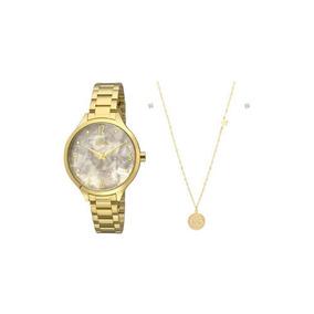 Relógio Allora Feminino Ref: Al2036fig/k4b Kit