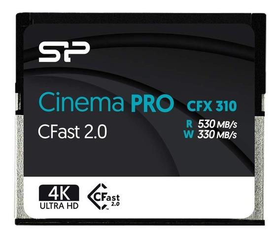 Cartao Memoria Silicon Power 128gb Cfx310 Cfast 2.0 Lacrado