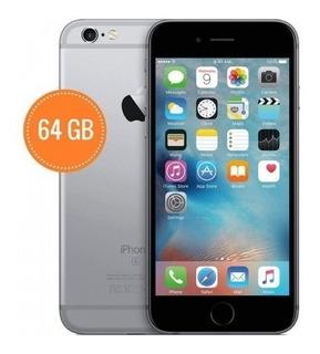 iPhone 6 64gb 4g Lte Liberado + Vidrio + Cargador Itr