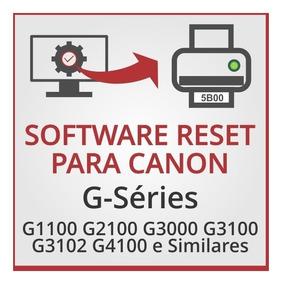 Software De Ajustes E Reset Para Canon G3102 E Similares