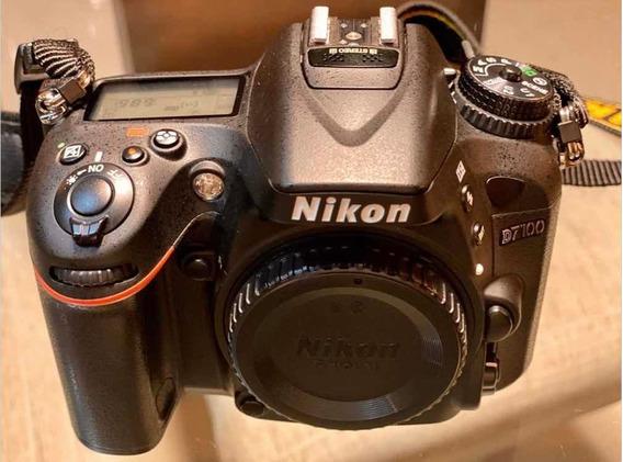 Nikon D7100 + Lente Objetiva Nikon Dx 18-105mm F/3.5/5