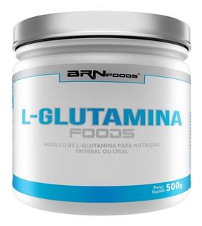 L-glutamina De 500g - Brn Foods