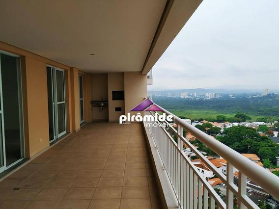 Apartamento Com 4 Dormitórios À Venda, 167 M² Por R$ 875.000,00 - Jardim Esplanada - São José Dos Campos/sp - Ap10097