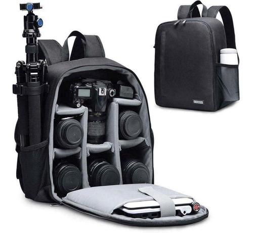Imagen 1 de 10 de Mochila Backpack Caden Camara Profesional Dslr Waterproof