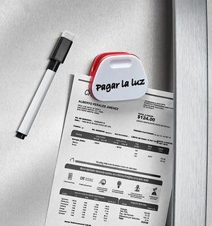 Imán Clip Y Notas 20822 Para Refrigerador O Base Metalica