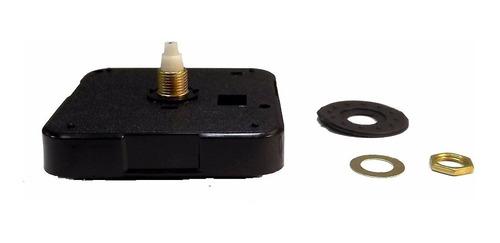 Máquina Silenciosa Sweep 13mm Quartz Continua Relógio Parede