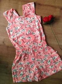 Macaquinho Infantil Flamingo