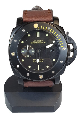 Antigo Relógio De Pulso Panerai Luminor Submersible Replica