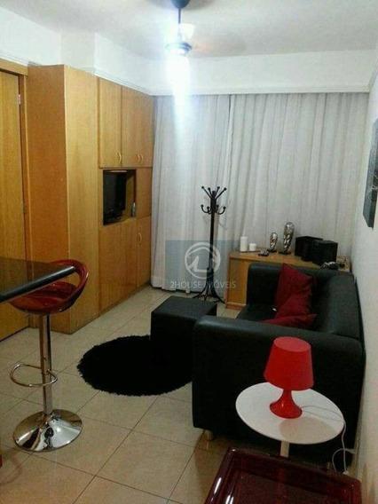Flat Com 1 Dormitório À Venda, 40 M² Por R$ 399.000,00 - Moema - São Paulo/sp - Fl0137