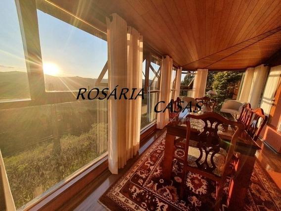 Venda Em Campos Do Jordão Casa Em Condomínio E Vista Permanente - 1232