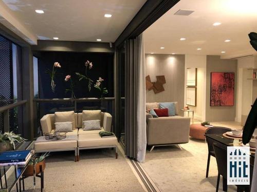 Apartamento À Venda, 140 M² Por R$ 2.063.000,00 - Vila Mariana - São Paulo/sp - Ap3940
