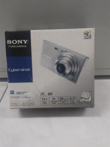 Cyber-shot Dsc-w320 - Sony Câmera - Na Caixa