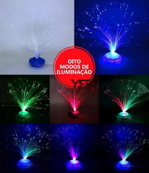 Luminaria Redonda Iluminacao Led Luzes Coloridas Dj Festa 5u