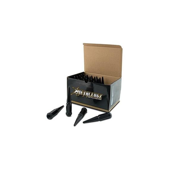 Metal Lugz Spiked Lugz Black 14x2.0 Hilo 4.4 Longitud Total