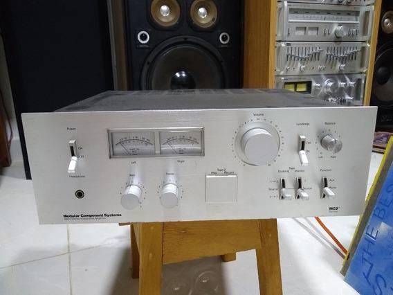 Vintage Mcs 3835 Stereo Amplificador Integrado Oportunidade