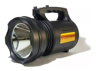 Lanterna Led Alta Potência Recarregável 30w T6 Profissional