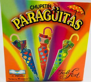 Paraguitas-bocadito Paraguitas 40u Mayorista Candy Zona Once