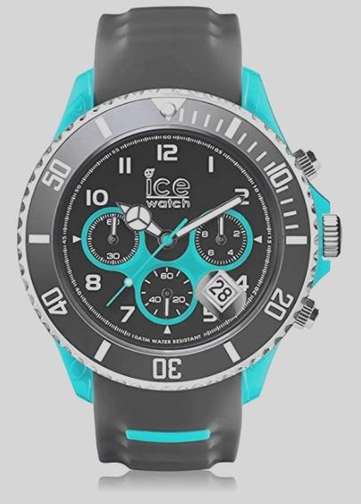 Relógio Cronógrafo Ice Watch - Sporty Grey Scuba Blue