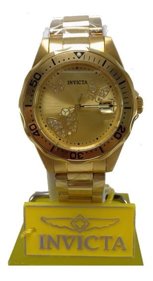 Relógio Invicta Feminino Angel 12505 Lindo E 100% Original!!