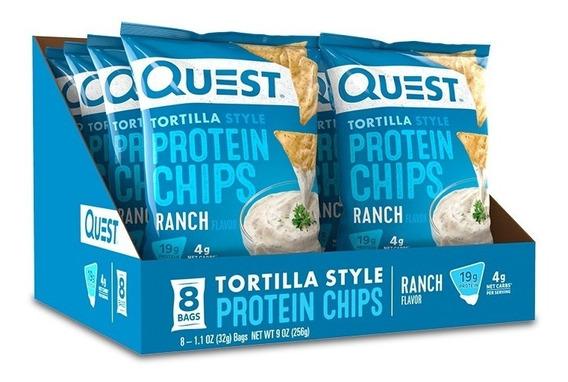 Chips De Proteína Quest Sabor Ranch