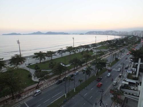 Apartamento Com 1 Dorm, Aparecida, Santos - R$ 530.000,00, 70m² - Codigo: 942 - V942
