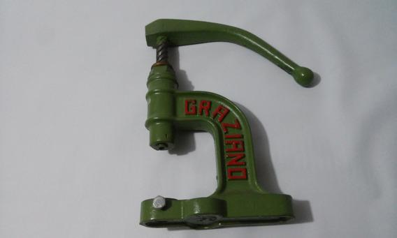 Maquina Graziano Nº 8 & Jogos De Matriz De Forrar Botões