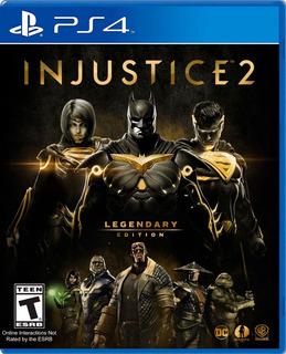 ..:: Injustice 2 Legendary Edition ::.. Para Ps4 En Game Cen