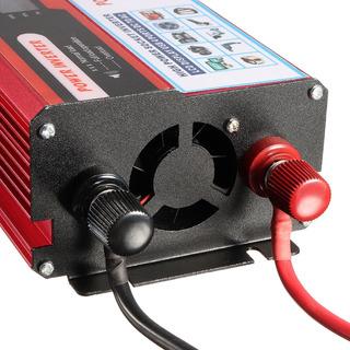 Inversor Pico 6000w 12v 110v 2plug Potente Red Pronta Entreg