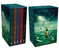 Percy Jackson E Os Olimpianos - Box 5 V Riordan, Rick