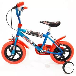 Bicicleta Halley Bmx Rodado 12 Nene Varon Colores Envios