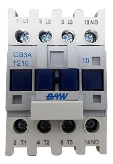 Contactor Tripolar 12a Bobina 220v Normal Abierto Baw 12