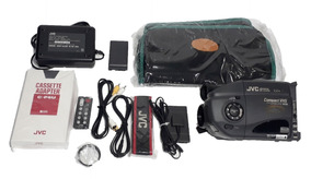 Filmadora Jvc Gr-ax404 Compact Vhs - Funcionando