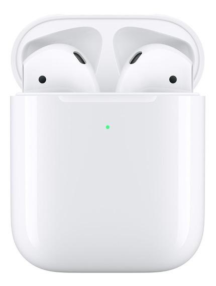 Fone AirPods Apple 2ª Geração Estojo Recarga Sem Fio Mrxj2ll
