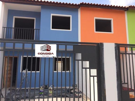 Casa Nova Com Excelente Preço - Ca0989