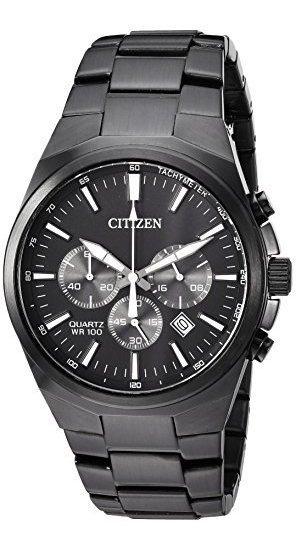 Reloj Casual De Cuarzo Para Hombre Acero Inoxidable Color
