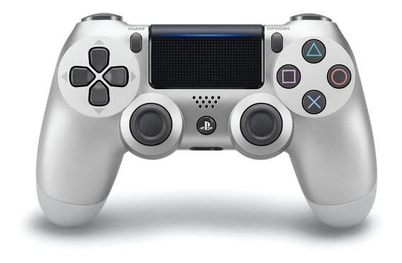 Joystick inalámbrico Sony Dualshock 4 silver