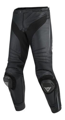 Imagen 1 de 2 de Pantalon Motociclismo Dainese Misano Leather Black