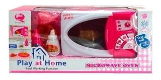 Juguete Electrodoméstico Mi Primer Microondas Original