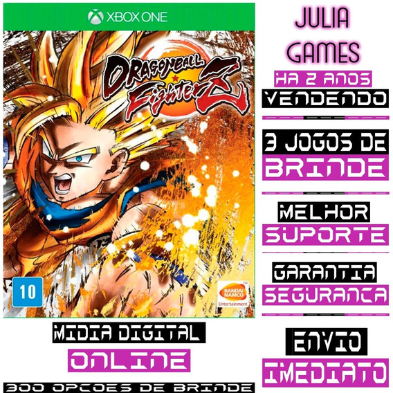 Dragon Ball Fighter Z Xbox One Digital Online + Brinde