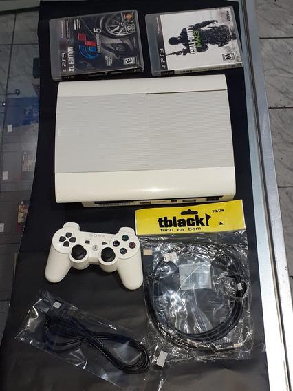 Console Playstation 3 Super Slim Branco