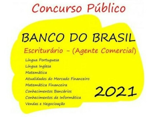 Apostila Banco Do Brasil - Agente Comercial 2021