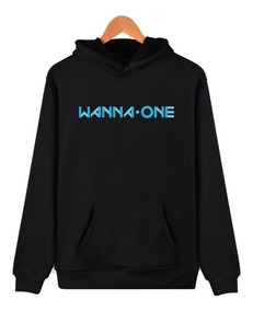 Moletom Blusa Canguru Grupo Musical Wanna One K-pop Unissex