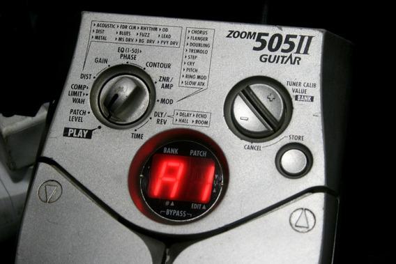 Pedaleira De Guitarra Zoom 505 Ii