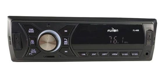 Rádio Automotivo Mp3 Player Fujion Bluetooth Hi-power
