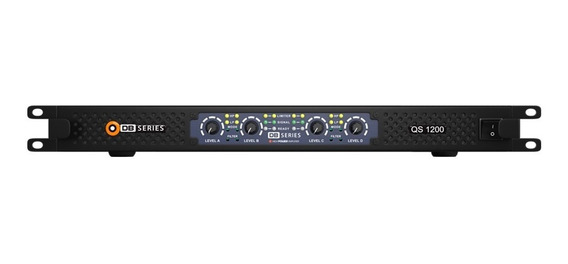 Amplificador Db Series Qs 1200 Slim 1200w Rms 4 Canais Nfe