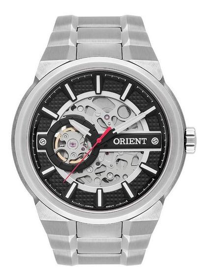 Relógio Orient Masculino Esqueleto Automático Nh7ss002 P1sx