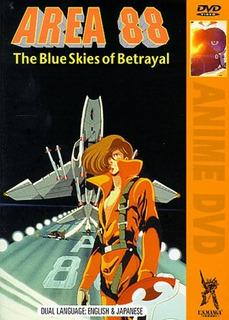 Area 88 The Blue Skies Of Betrayal!! Vhs En Ingles!!
