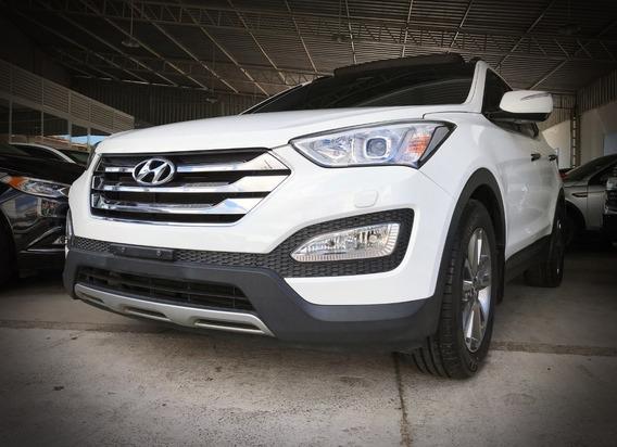 Hyundai Santa Fe V6 3.3. Branco 2013/14